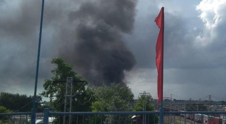 Открытое горение в здании вагоноремонтного депо в Мордовии было ликвидировано