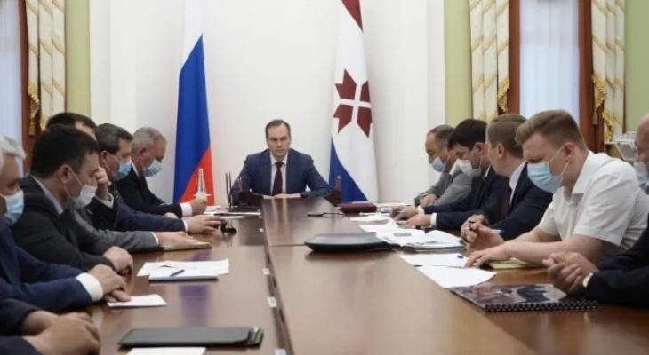 Совещание по вопросам многоэтажной застройки 8 июня провёл Артём Здунов