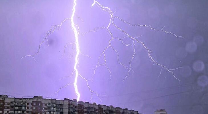 10 июня синоптики обещают жителям Саранска дождь, возможна гроза