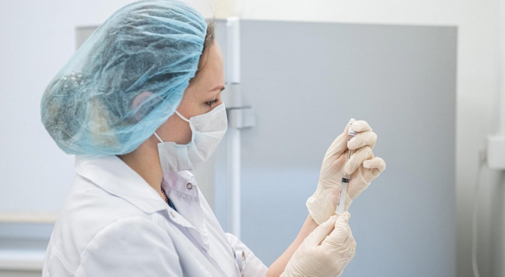 В Теньгушевском районе Мордовии активно работает мобильный пункт вакцинации