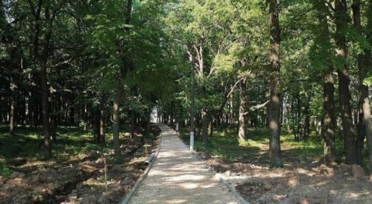 Парк в Рузаевке будет благоустроен к 1 сентября