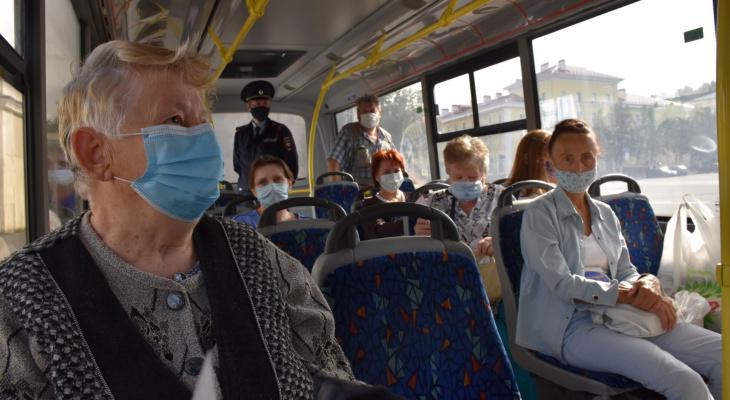 Глава Саранска Петр Тултаев запретил перевозить в автобусах пассажиров без масок