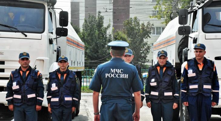 В Мордовии приступают к работам по дезинфекции специалисты Волжского спасательного центра