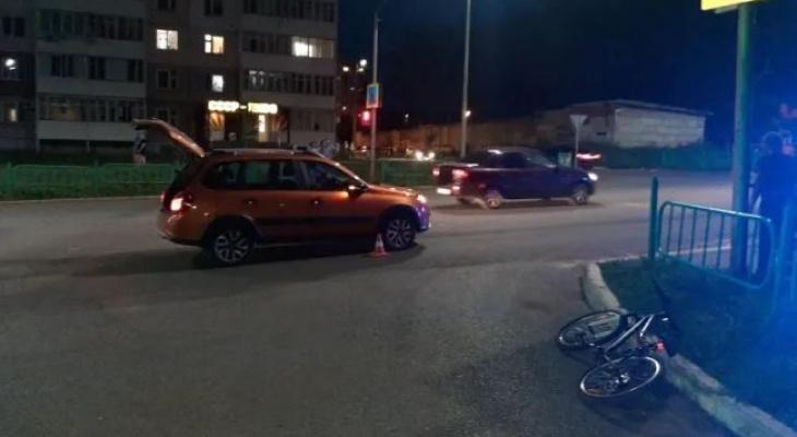 """В Саранске 36-летний водитель на """"Lada Granta"""" сбил 10-летнего велосипедиста"""