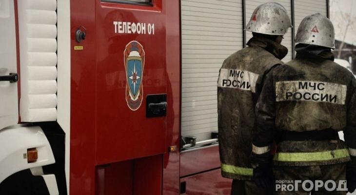 В Мордовии едва не сгорел комбайн