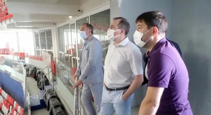 В Мордовию поступили 850 миллионов рублей для завершения ремонта «Саранск Арены»