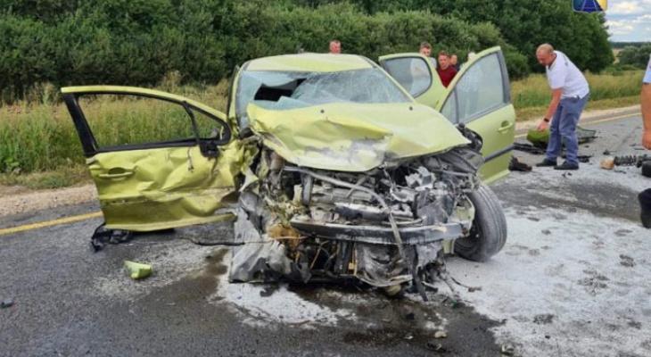 Количеств пострадавших в крупной аварии в Мордовии возросло до шести