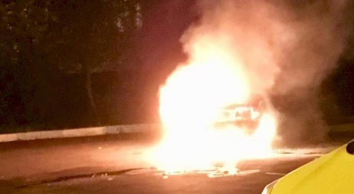 В Мордовии за сутки горели три машины
