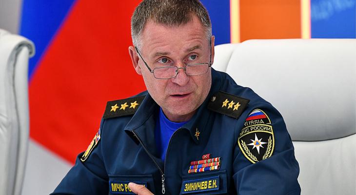 Глава МЧС России Евгений Зиничев погиб во время учений, спасая человека