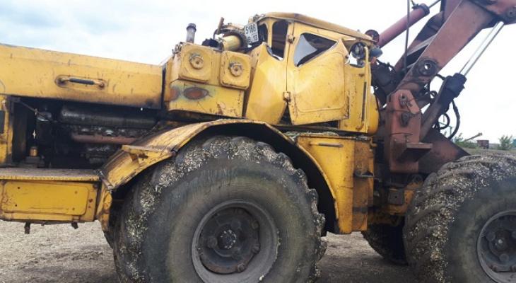При опрокидывании трактора в Старошайговском районе Мордовии погиб 54-летний механик