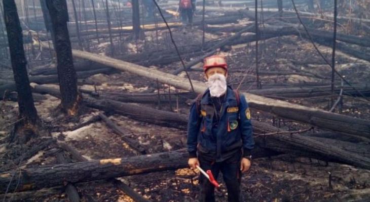 В Мордовии полностью ликвидировали лесной пожар в заповеднике