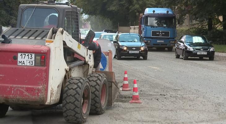 В Саранске на 3 дня введут ограничение на движение транспорта по улице Титова
