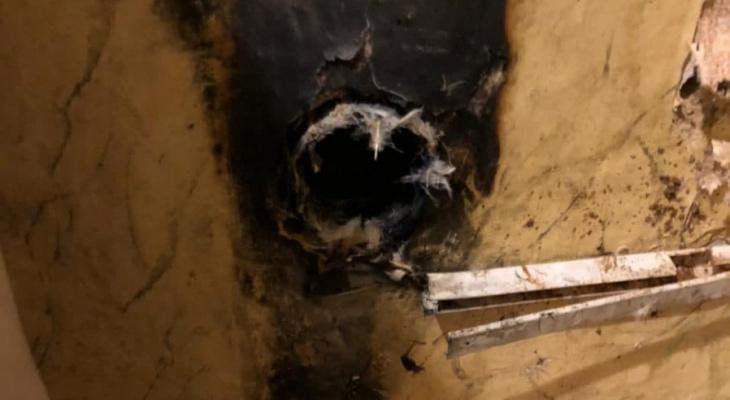 В многоэтажке Саранска на улице Лихачева горела квартира