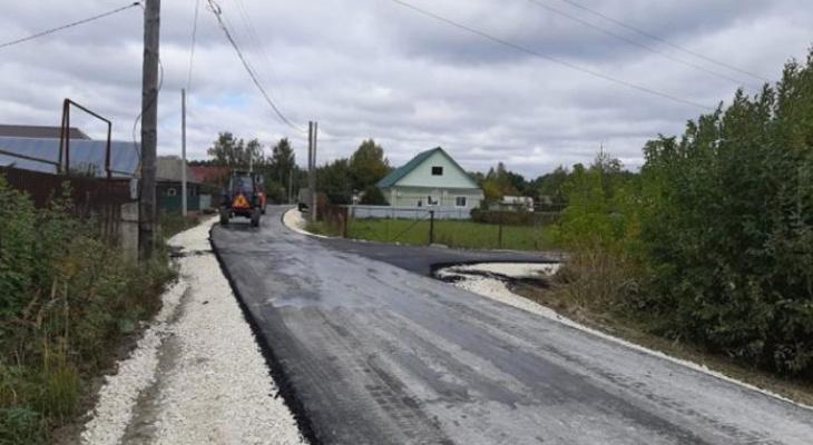 В Потьме Зубово-Полянского района появилась новая дорога к школе