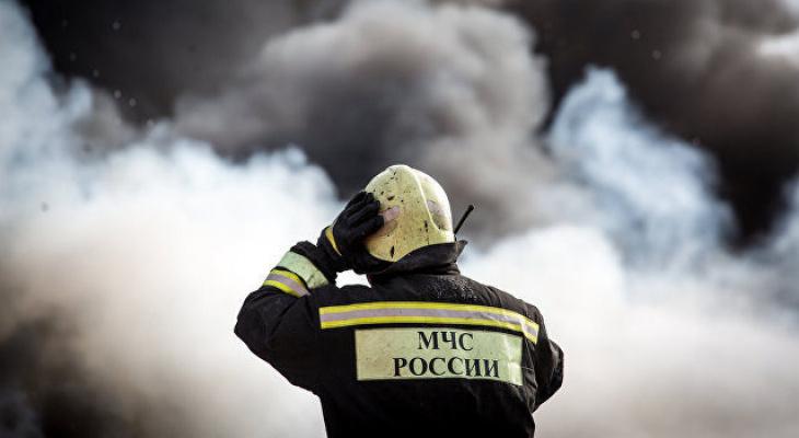 В Саранске по улице Гожувской загорелась квартира