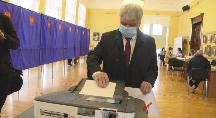 В Мордовии свой выбор сделали 25,92% избирателей