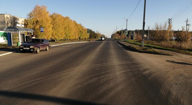 В Саранске водитель сбил школьницу на пешеходном переходе