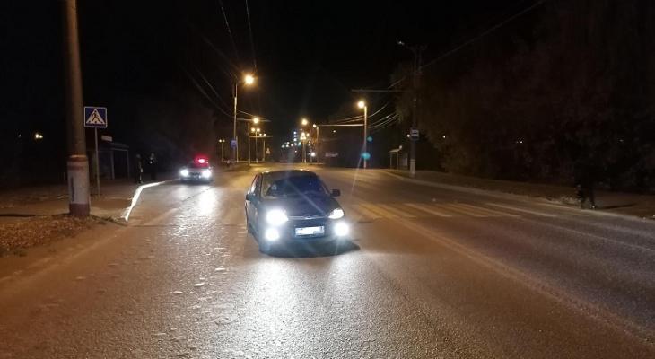 В Саранске вечером сбили 24-летнего пешехода